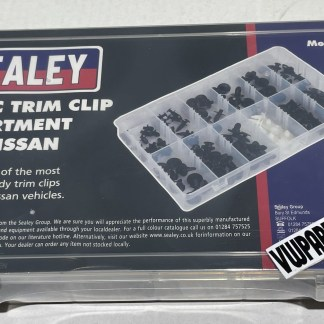 123pc Body Trim Clip Fixings Assortment for Nissan
